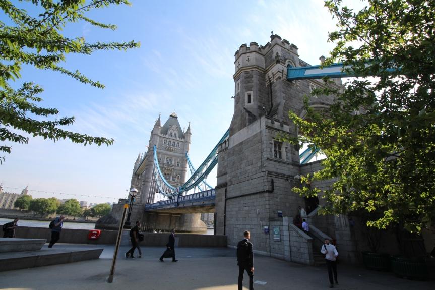 Eine Tagestour: Vom Tower in die Docklands, Teil1