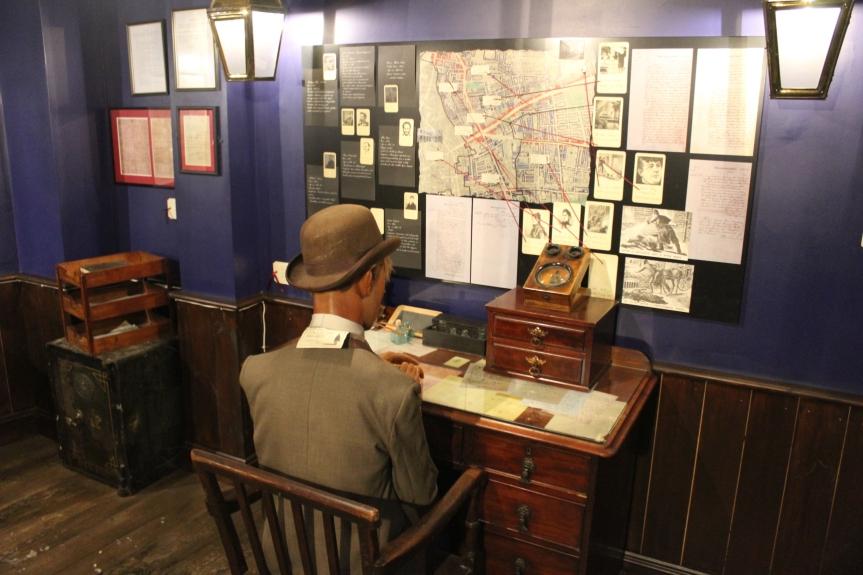 Klein aber fein: Das Jack the Ripper –Museum